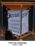 Station de remplissage big bag à ouverture totale - Remplissage