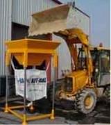 Station de remplissage pour big bag spécial travaux public - Station de remplissage TP