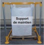 Station de remplissage pour bigs bags - Support pour bigs bags