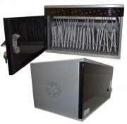 Station de stockage 20 tablettes - Modèle économique sécurisé intégrant le chargement électrique de 20 tablettes 10''