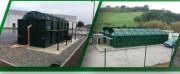 Station de traitement des eaux usées - Station de traitement biodisque