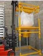 Station de vidange pour conteneur Big Bag souple avec vanne et trappe - Station