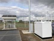 Station électrique hybride intelligente - 2 sources d'énergie : panneaux photovolta¨ques - éolienne