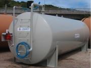 Station engrais liquide - Capacité (L) : de 20 000 à 60 000