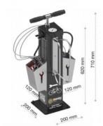 Station de gonflage pneu vélo - Pompe avec adaptateur pour tout type de valve