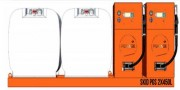 Station mobile de distribution carburant - Capacité : 900 à 1800 Litres