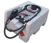 Station mobile fuel 125 L autonome - 12V - À brancher sur batterie - Débit : 40 l.min