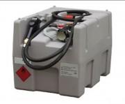 Station mobile fuel 200 L 12 V - Homologué ADR - Cuve en polyéthylène simple paroi