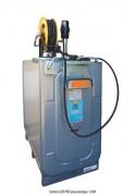 Station pneumatique à huile - Capacité : 750 - 1000 L