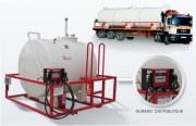 Station service compacte pour stockage essence - Capacité de  2 000 L à 60 000 L