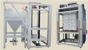 Station vidange sac palette automatique - Production : 500 - 600 sacs/heure