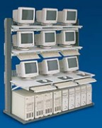 Stations réseaux 9 écrans - Station 9 écrans