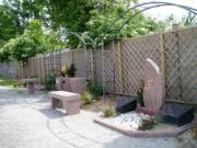 Stèle en granit rose - Espace Cinéraire