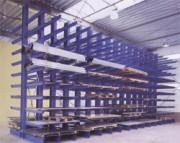 Stockage cantilever charges lourdes - Archivage de matériel en lourds