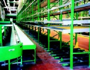 Stockage de palettes - Stockage dynamique