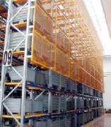 Stockage dynamique à palettes - Rayonnage de charges lourdes
