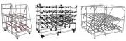 Stockage dynamique mobile - Entièrement modulable : longueur, largeur hauteur, architecture, …