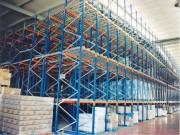 Stockage dynamique pour produits palettisés - Pour stockage de produits palettisés