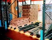 Stockage palettes dynamique - Stockage de palettes
