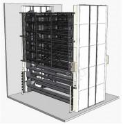 Stockage rotatif vertical sur mesure - Projet sur mesure