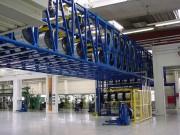Stockage vertical pour tourrets - 100 kg à 3 tonnes par plateau