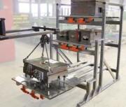 Stockeur à tiroirs pour moules injection plastique - Plateaux coulissants décalés