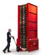 Stockeur automatique de palette - Hauteur maxi de 15 palettes