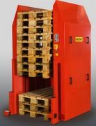 Stockeur de palettes automatique - Nb palettes max : 15  - Capacité de charge : 500 kg