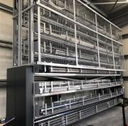 Stockeur rotatif pour profilés et tubes - Accès rapide - Sécurité de manutention - Optimisation de l'espace