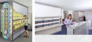 Stockeur vertical automatisé - Système de classement idéal pour les bureaux et administrations.