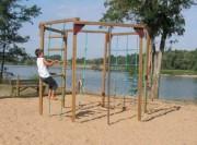 Structure à grimper - Tranche d'âge 6 à 12 ans