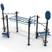 Structure d'extérieur functionnal training - Dimensions (L x l x H) : 555 x 350 x 324 mm