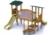 Structure de jeux Parc Saja - Norme EN 1176 / de 1 à 6 ans