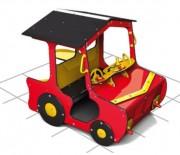 Structure de jeux voiture - Dimensions (L x P x H) cm : 446 x 214 x 299
