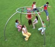 Structure extérieur araignée - Norme EN 1176 / de 3 à 12 ans