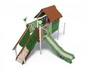 Structure jeux enfant extérieur - Grand nombre d'agrès