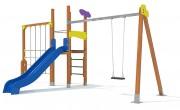 Structure multi jeux pour aire de jeux