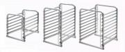 Structure support pour plateaux - Niveaux : 6, 10 ou 20 - En acier inox