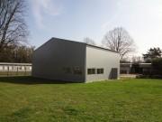 Structure temporaire d'accueil de public - Bâtiment modulaire avec de nombreuses options de confort