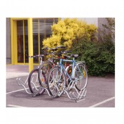 Support 6 cycles à 2 niveaux - Dimensions (L x l x h) : 150 x 58.5 x 37 mm