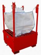 Support big bag sur mesure - Nettoyage des toupies et des bennes à bétons - Remplissage, vidange, stockage vrac