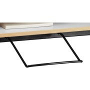 Support clavier fixe noir pour station - Lan -88033