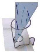 Support cornet de frites - Dimensions Ø x H : 550 x 85 mm