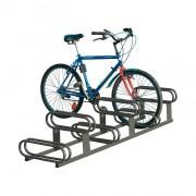 Support cycle 6 places - Emplacement décalé en hauteur