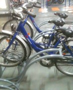 Support cycles avec arceaux - Nombre de places : 6, 8 ou 12 Places