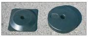Support de fixation pour poteau - Diamètre : 300 mm