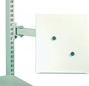 Support document A4 sur bras - Dimensions (L x l x h) : 290 x 20 x 330 mm