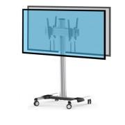 Support double écran dos à dos - Support pour deux écrans dos à dos