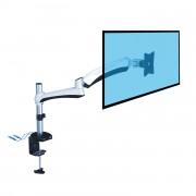 Support écran pc - Avec 2 prises USB - 2 bras articulés -  PC 13