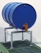 Support fût acier amovible - Dimensions (mm) : 725 x 600 x 420